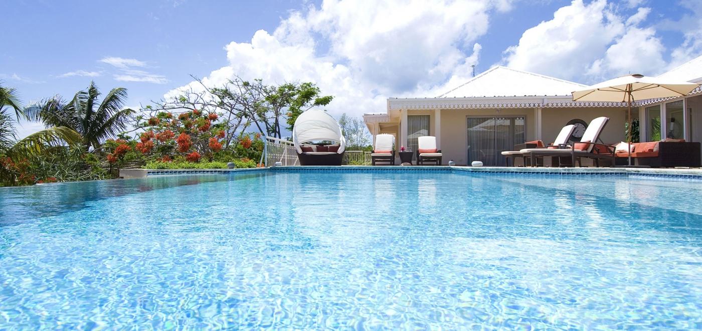 Villa Jardin Creole 3 Bedroom | Ocean View - Located in Beautiful ...