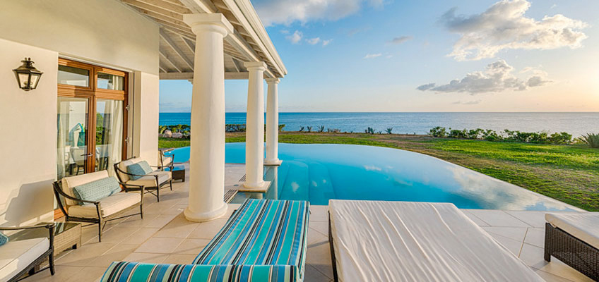 Poolside Ocean View At St. Martin Villa
